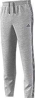 adidas Men's Athletics Essential Cotton 3 Stripe Tapered Pant