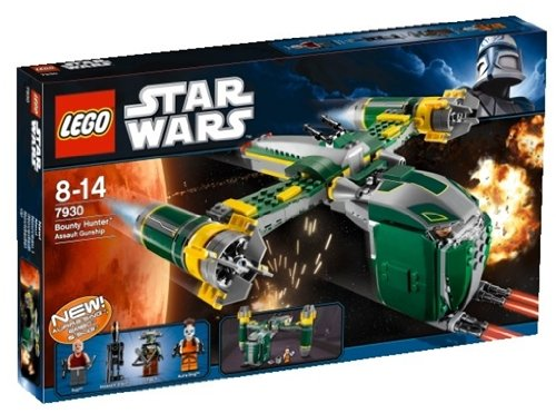 LEGO Star Wars 7930 - Bounty Hunter Assault Gunship