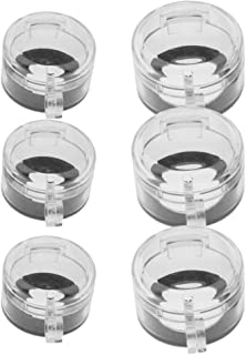 Perfk 6 Pieces Emergency Stop Switch Cover - Stove Knob Covers for Child Safety, Oven Knob Safety Guard - Clear Oven Lock ...