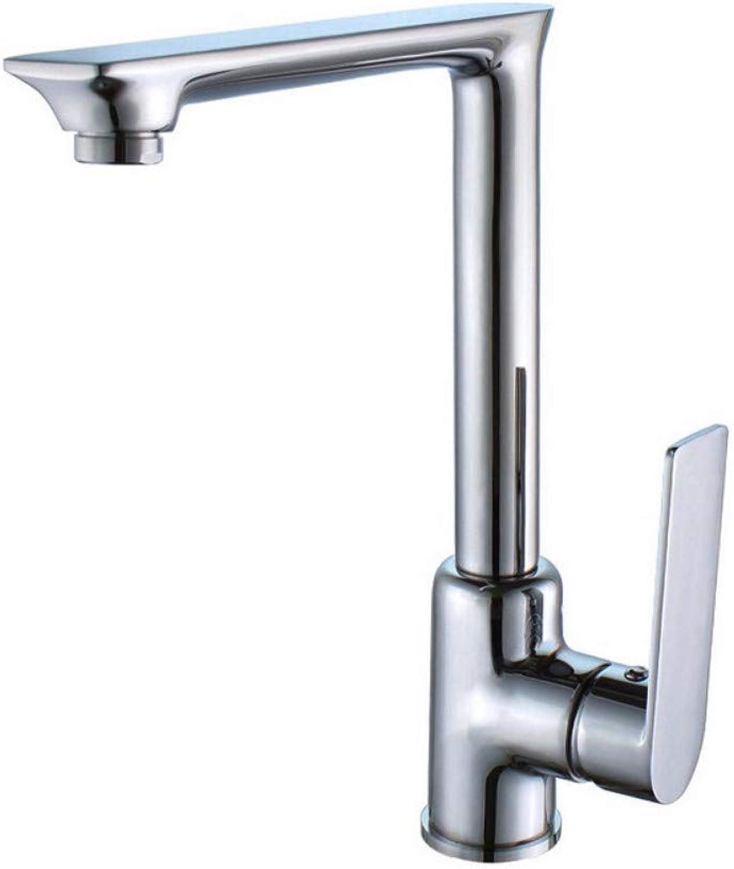 Küchenwasserhahn Farbe Wasserhahn kann gedreht werden alle Kupfer Becken Waschbecken Wasserhahn Silber