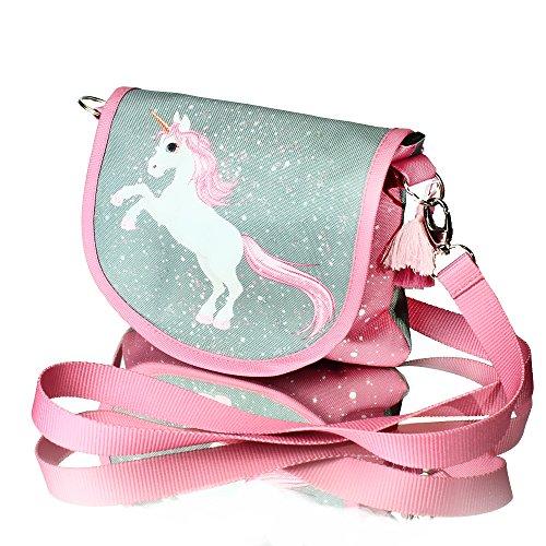 Unicorn MAGIC COLLECTION Unicornio MAGIC COLLECTION mágico con brocado bolso bandolera de...
