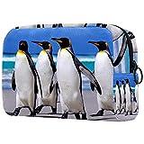 Bolsa De Maquillaje Pingüino Neceser De Cosméticos Y Organizador De Baño Neceser De Viaje Bolsa De Lavar para Hombre Y Mujer 18.5x7.5x13cm
