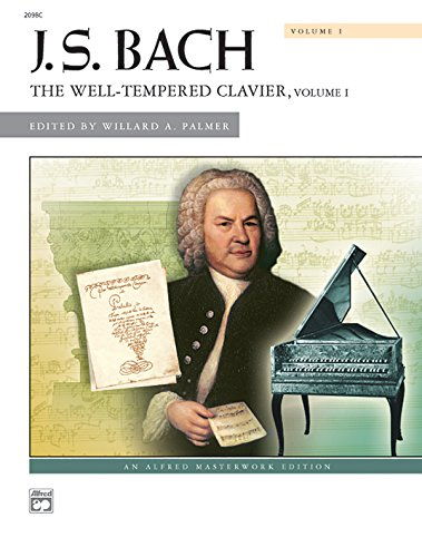 Price comparison product image Bach -- The Well-Tempered Clavier,  Vol 1: Comb Bound Book (Alfred Masterwork Edition)