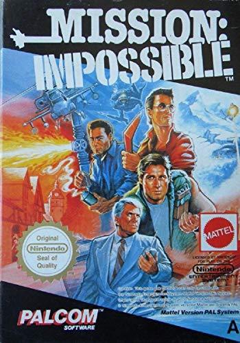 MISSION IMPOSSIBLE MATTEL NINTENDO NES PAL A