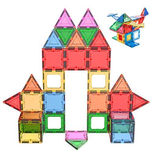 NAVESTAR 3D Magnetic Building Set,Kids Magnet Toys Building Blocks Tiles Creativity Set Educational Toys for Kids Children (44pcs)