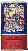 Trader Joe's(トレーダージョーズ) Low Acid French Roast Coffee - 13 Oz. (Dark Roast, Whole Bean)
