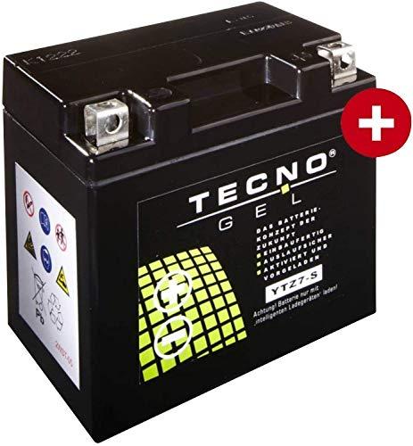 YTZ7S TECNO GEL-Batterie für Duke 125 ABS Baujahr 2013-2016