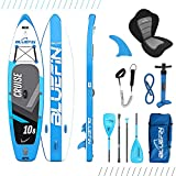 Bluefin SUP Stand Up Inflatable Paddle Board with Kayak Conversion Kit | Ultimate iSUP Kayak Bundle...
