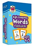 New High-Frequency Words Flashcards for Ages 4-5 (Reception): perfect for learning at home