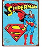 Tin Sign Superman -Retro.