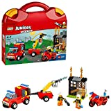 LEGO Juniors Fire Patrol Suitcase Building Blocks for Kids 4 to 7 Years (110 pcs) 10740 oxygen tanks Jan, 2021