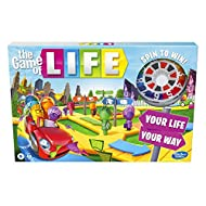 The Game of Life Game, Family Board Game for 2 to 4 Players, for Kids Ages 8 and Up, Includes Colour...
