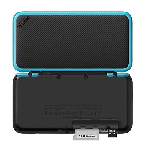 New Nintendo 2DS XL - Black + Turquoise With Mario Kart 7 Pre-installed - Nintendo 2DS Alaska