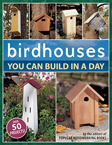 Birdhouses You Can Build in a Day (Popular Woodworking)