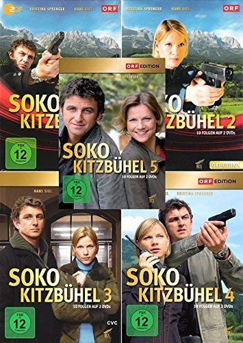 SOKO Kitzbühel - Staffel 1-5 im Set - Deutsche Originalware [10 DVDs]