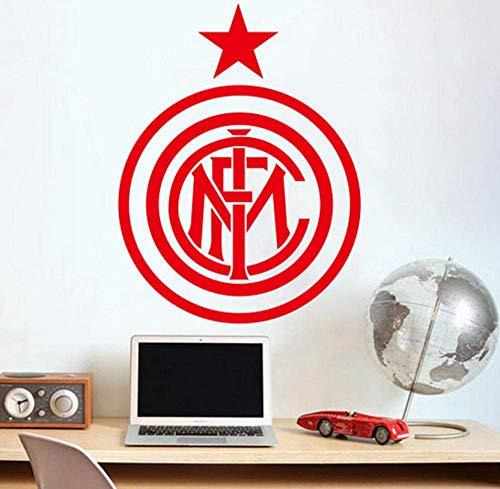 Adesivi Murali Calcio Europa League Team Logo Simbolo Adesivi Murali Fai Da Te Per La Camera Dei Bambini Murali Casa Decalcomanie In Vinile Decorazione Artistica Decalcomanie Da Muro 58X43 Cm