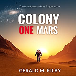 Colony One Mars audiobook cover art