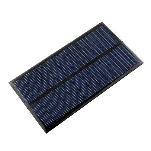 GuLin Mini Panneau Solaire de 6V 1W Panneau Solaire de cellules de polysilicium de DIY