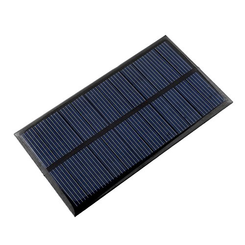Sedeta 6V 1W polykristallines Solarmodul DIY Solar Power Spielzeug Geeignet für solarbetriebene Wasserpumpe, kleine Solaranlage usw