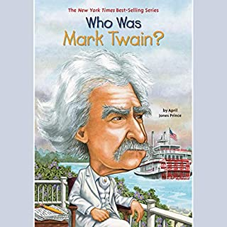 Who Was Mark Twain? audiobook cover art