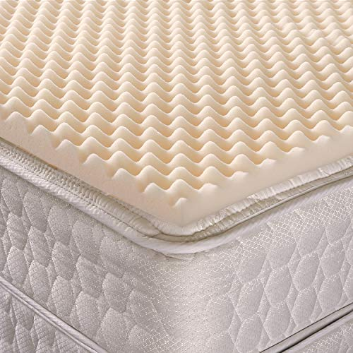 Geneva Healthcare Egg Crate Convoluted Foam Mattress Pad 2