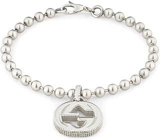 fae06de5b Gucci Silver Bracelet Interlocking G YBA479226001018
