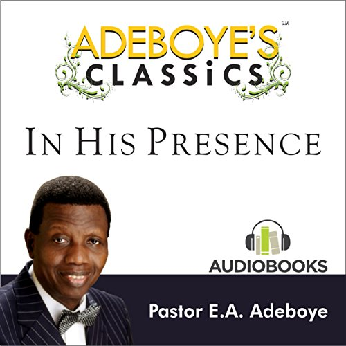 Adeboye's Classics, Volume One cover art