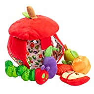 World of Eric Carle, The Very Hungry Caterpillar Apple Play Set and Shape Sorter Developmental Toy