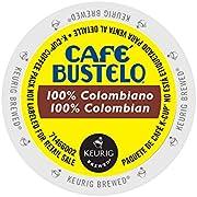Café Bustelo 100 % Colombian Coffee 96 K Cup Packs