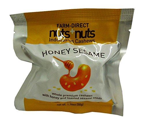 nuts+nuts(ナッツナッツ) カシューナッツ ハニーセサミ 50g×4個