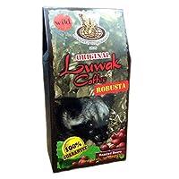 KupuKupu クプクプ Kopi Luwak ルアックコーヒー Robusta ロブスタ 50g Roasted Beans 焙煎豆 [海外直送品]