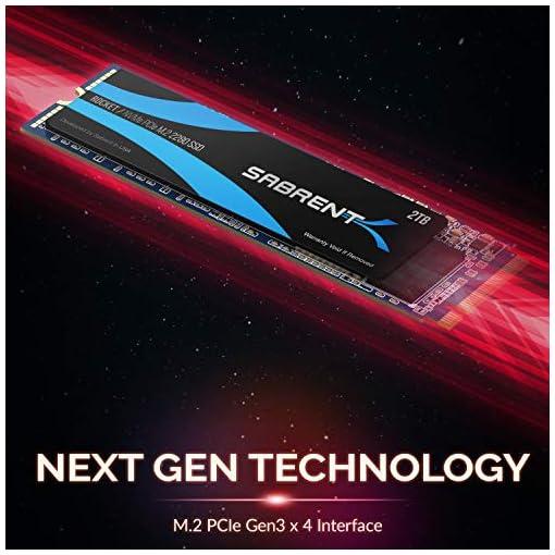Sabrent 2TB Rocket NVMe PCIe M.2 2280 SSD interno Unidad de estado sólido de alto rendimiento (SB-ROCKET-2TB) 7