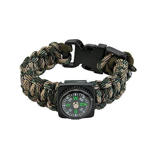 Paracord Compass Bracelet Craft Kit - Crafts for Kids and Fun Home Activities