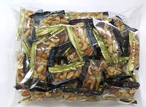 ほんのり塩味ミックスナッツ個包装 500g(便利な個包装 小分けパック)アーモンド カシューナッツ クルミ スナックピー ピーナッツ
