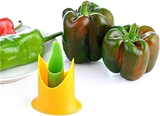 EPRHAY Pfeffer-Schneider, 2 Stück, für Paprika, Chili, Tomaten, Entkerner, Schneider, Obst, Gemüse, Schäler, Küchenutensil
