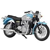 Auto Modelo 1:18 Bonneville Alloy Street Sport Motocicletas Modelo Funcionable Amortiguador Shork para Niños Regalos Colección De Juguetes
