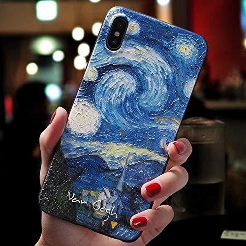 WQDWF para iPhone 11 Pro 7 8 6 s 6s 7plus 12 Mini XS MAX Funda para iPhone X XR 7 8 Plus 5 5s SE 2020 Art Black Cases, 21, iPhone 12 Pro