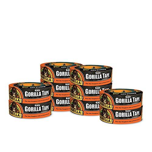 Gorilla Black Duct Tape, 1.88