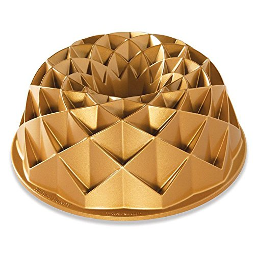 Nordic Ware Jubilee Bundt Pan, One, Gold