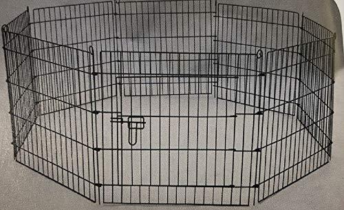 犬 ペットサークル S ケージ 8面 高さ61cm 超小型〜小型犬 うさぎ 小動物 折りたたみ ペットフェンス YD008S-1 室内・屋外 組み立て簡単