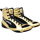 RIVAL Boxing RSX-Guerrero Deluxe Mid-Top Boxing Boots - 6 - Gold