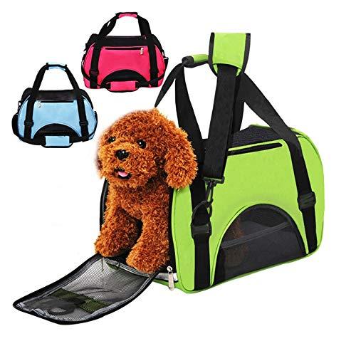 takestop® reistas trolley 46 x 24 x 29 cm ED_14013_1 afvoertas hond kat kleine dieren zachte kleur thuis