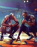 Poster Kobe Bryant Michael Jordan Lebron James, kein
