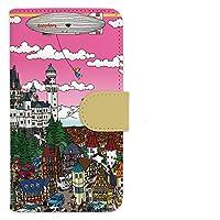 まつやまたかし/Germanyイラスト手帳型スマホケース/Andoroid iPhone用