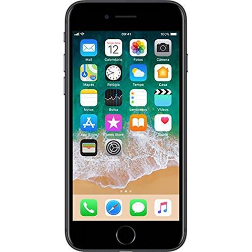 Smartphone, Apple, iPhone 7 MN922BR/A, 128 GB, 4.7'', Preto Fosco