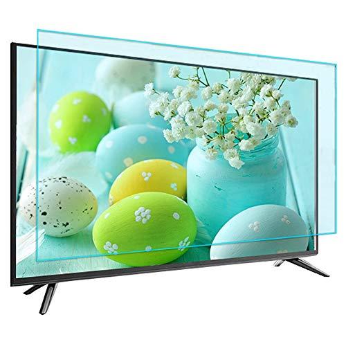 Fernseher Anti Blaues Licht Bildschirm Schutz, 32-70 Zoll Augenschutz Blaues Licht Blöcke Anti Scratch Ultra Klar Filterfilm Monitor Schutz Zur Reduzierung Der Augenermüdung,40in(88.3x49.5cm)