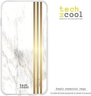 Funnytech/® Funda Silicona para Xiaomi Redmi 8 Gel Silicona Flexible, Dise/ño Exclusivo Dise/ño Texturas marmol Vers.2