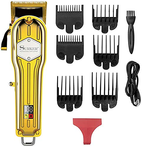 LV one Pantalla eléctrica de Metales cortadora de Cabello Led Digital de...