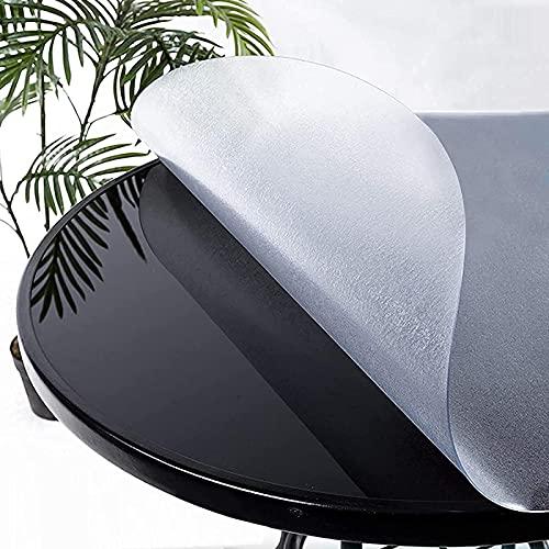 GCFG Mantel Esmerilado Cubierta de encimera de Cocina Cubierta de plástico Impermeable de 2 mm Cubierta Protectora de Mantel de PVC Resistente a Altas temperaturas y fácil de Limpiar