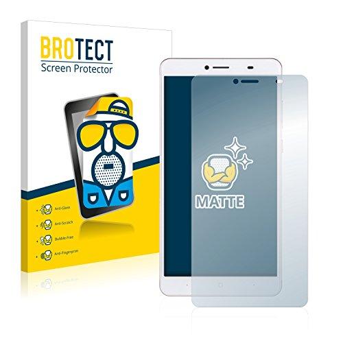 BROTECT 2X Entspiegelungs-Schutzfolie kompatibel mit Doogee Y6 Max Bildschirmschutz-Folie Matt, Anti-Reflex, Anti-Fingerprint